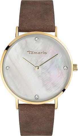 TAMARIS Laikrodis »Anika brown gold TW009«
