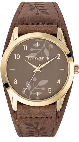 TAMARIS Laikrodis »Alena brown gold TW029«