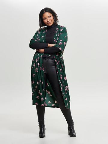 ONLY CARMAKOMA Geblümter Curvy kimono