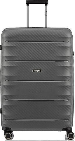 TITAN ® Plastikinis lagaminas ant ratukų