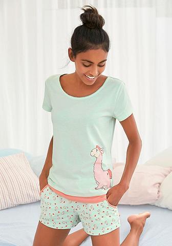 NICI Pižama su Lama-Print