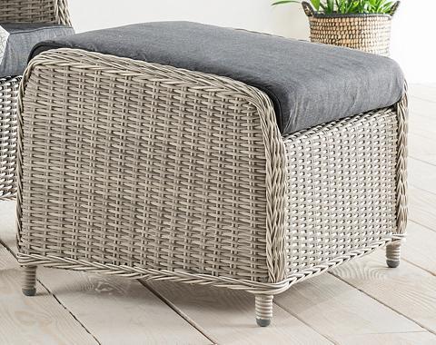 DESTINY Kėdė »Casa« Polyrattan ir užvalkalas