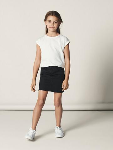 NAME IT Super Stretch Džinsinis sijonas