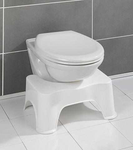 WENKO Toiletten-Stuhl Toilettenhocker Secura...