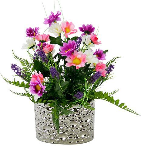 I.GE.A. Kunstpflanze Margeriten/Lavendel aukšt...
