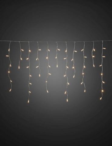 KONSTSMIDE LED Eisregen Lichtervorhang