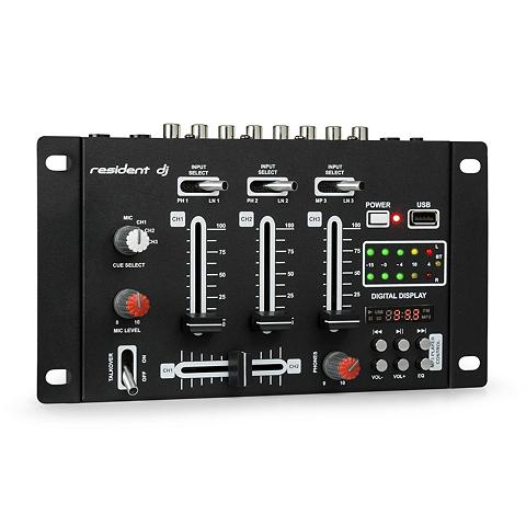 resident dj DJ-Mixer Mischpult Bluetooth USB laikm...