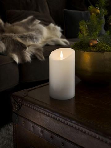 KONSTSMIDE LED Vaškinė žvakė su 3D Flamme