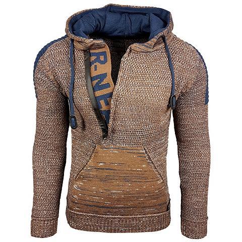 RUSTY NEAL Megztinis su gobtuvu im auffälligen De...