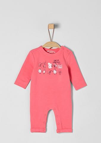 S.OLIVER RED LABEL JUNIOR Sweat-Overall su raštas dėl Babys