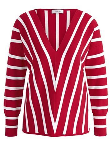 heine TIMELESS Megztinis tief ausgeschnitten