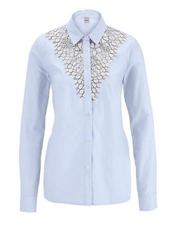 heine CASUAL Marškiniai su aukšta kokybė nėrinių