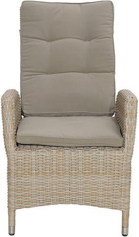 PLOSS Sodo kėdė »Borneo« Polyrattan kočėlas ...