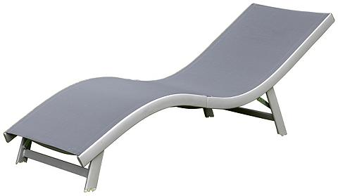 MERXX Sodo gultas »Cremona« Alu/Textil klapp...