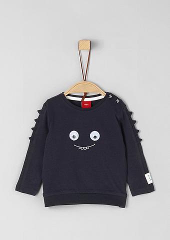 S.OLIVER RED LABEL JUNIOR Monster-Shirt su aplikacija dėl Babys