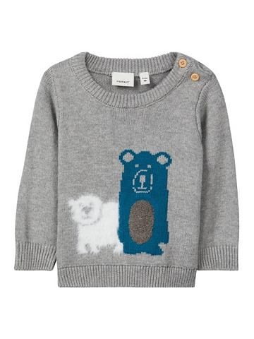 NAME IT Megztas megztinis