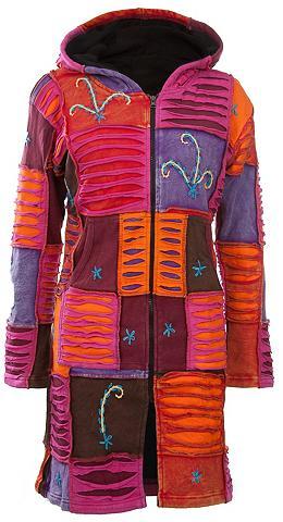 DEPROC ACTIVE Megztas paltas »Patchwork paltas Multi...