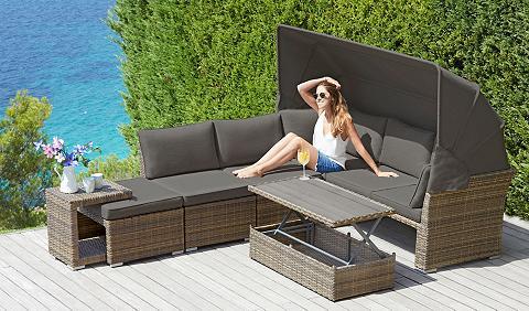 KONIFERA Sodo sofa-lova »Hawaii Premium« 19-tlg...