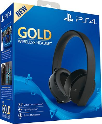 PlayStation 4 »Gold« Wireless-Headset