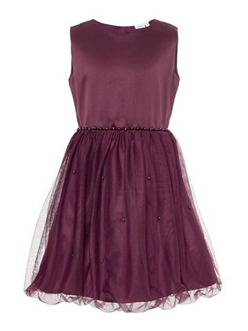 NAME IT Perlenverziertes Tiulio suknelė