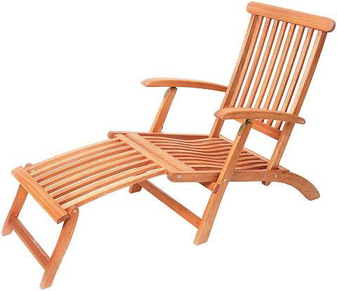 MERXX Atpalaiduojanti kėdė »Deck Chair« Euka...