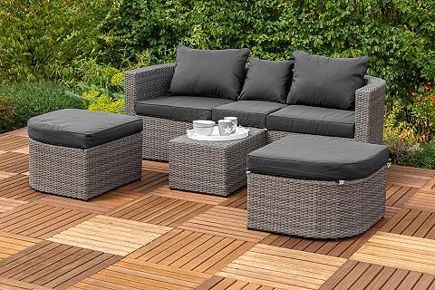 MERXX Sodo sofa-lova »Madeira« Polyrattan