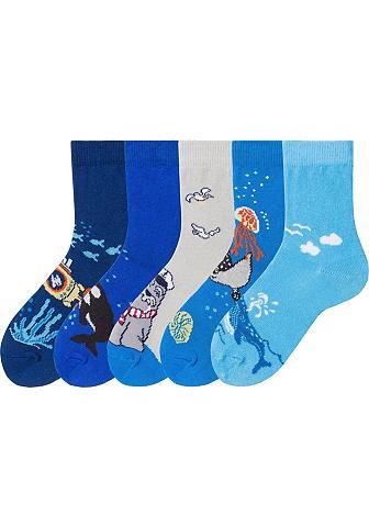 Arizona Socken (5-Paar) su Meeresmotiven