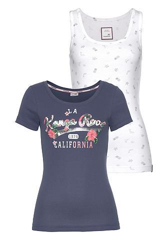 KANGAROOS Marškinėliai (Rinkinys 2 dalys su Top)...