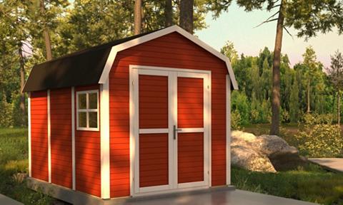 bertilo Sodo namelis »Schwedenhaus« BxT: 365x2...