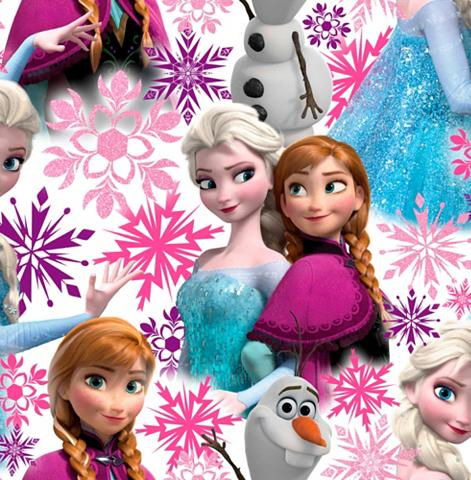 ART FOR THE HOME Popieriniai tapetai »Frozen Anna & Els...