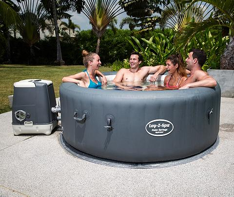 BESTWAY Rinkinys: Whirlpool »Lay Z-Spa? Palm S...
