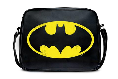 LOGOSHIRT Umängetasche im Batman Logo-Design