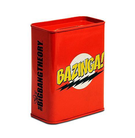 LOGOSHIRT Taupyklė su Bazinga!-Logo