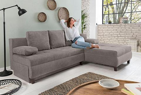 HOME AFFAIRE Kampinė sofa »Aila« su miegojimo funkc...