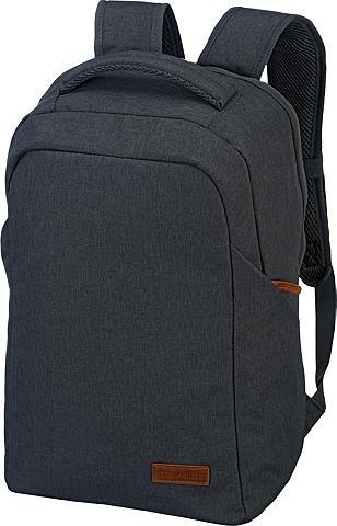 travelite Laptoprucksack »Basics Safety Anthrazi...