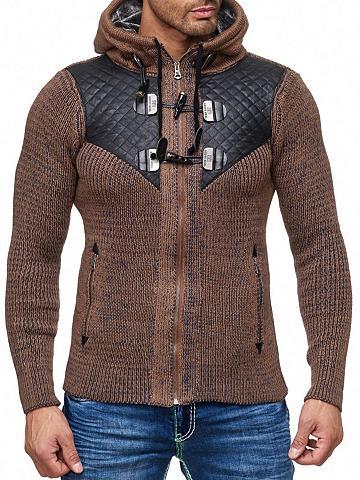 RUSTY NEAL Megztinis su praktischer gobtuvas