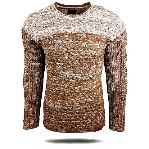 RUSTY NEAL Megztinis in melierter imitacija