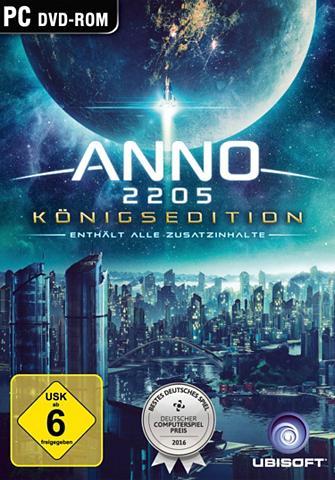 UBISOFT Anno 2205 Königsedition PC