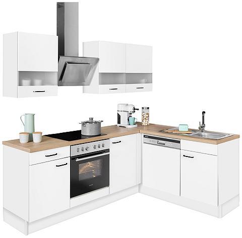 OPTIFIT Winkelküche »Elga« be E-Geräte Premium...