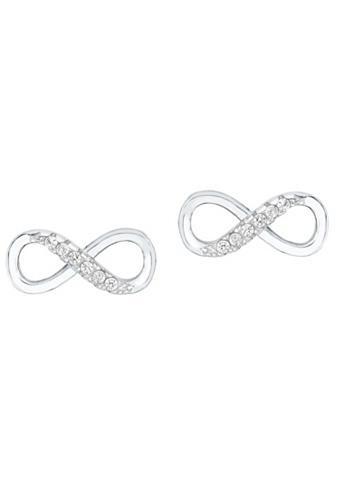 Amor Paar auskarai »Infinity / Unendlichkei...