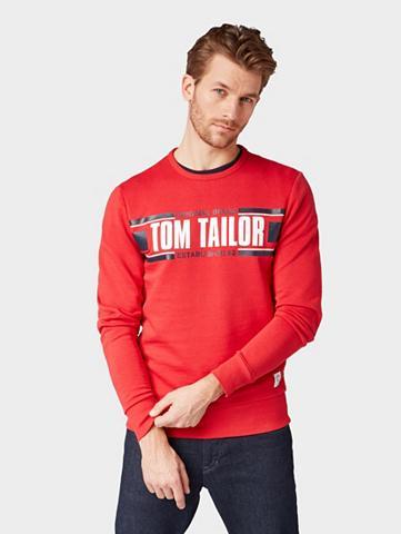 TOM TAILOR Sportinio stiliaus megztinis Marškinėl...