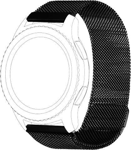 TOPP Apyrankė »Mesh f. Galaxy Watch 46mm/Ge...