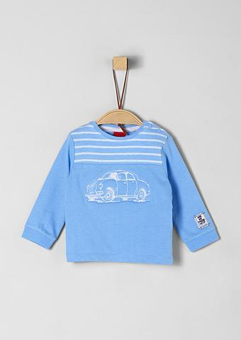 S.OLIVER RED LABEL JUNIOR Fabricmix-Shirt su Embroidery dėl Baby...