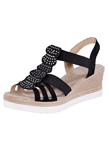 LIVA LOOP Liva Šalikas-mova sandalai su elasting...