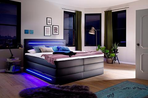 MEISE.MÖBEL Meise.möbel lova su LED Apšvietimas pa...