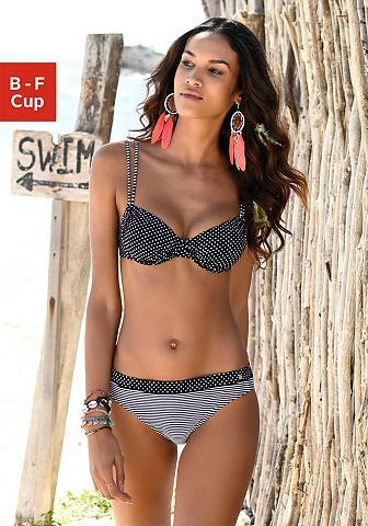 s.Oliver Beachwear Bikini viršutinė dalis »Avni« su raukt...