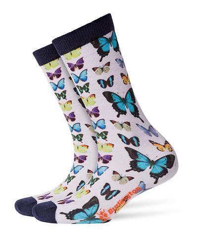 BURLINGTON Kojinės Butterfly (1 poros)