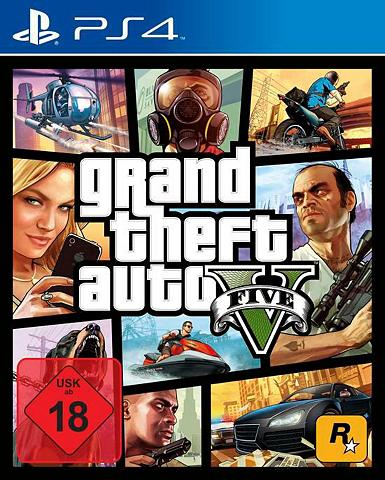 ROCKSTAR GAMES GTA V - Grand Theft mašina 5 Play Stov...
