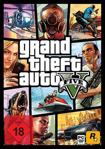 ROCKSTAR GAMES GTA V - Grand Theft mašina 5 PC