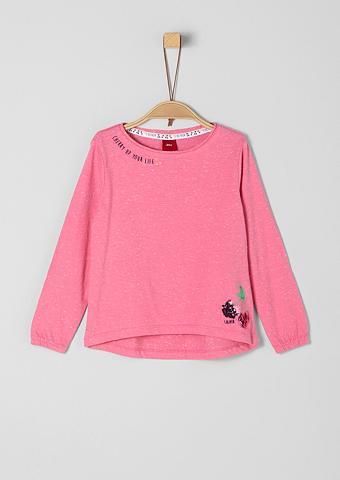 S.OLIVER RED LABEL JUNIOR Neppy-Shirt su Pailletten-Motiv dėl Mä...